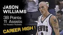 Jason Williams CAREER HIGH 38 Points And 11 Assists - Rockets @ Grizzlies (11.30.2001)