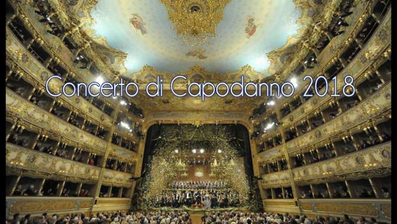 Venezia Teatro La Fenice Concerto di Capodanno 2018