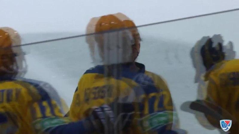 Моменты из матчей КХЛ сезона 14/15 • Гол. 5:2. Артём Чернов (Атлант) здорово сыграл на пятаке 25.12
