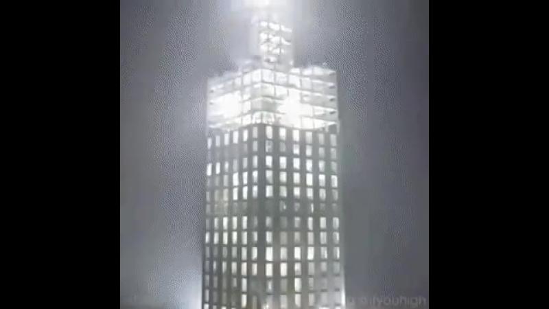 15 kunda qurilgan bino xitoy