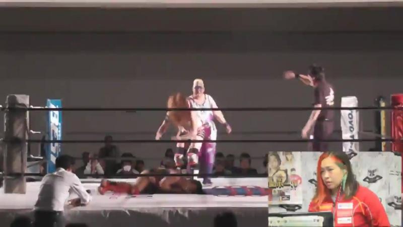 Aja Kong, Hiroyo Matsumoto, Mio Momono vs. Ami Sato, Heidi Katrina, Meiko Satomura (Sendai Girls)