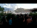 Cruise Ship playing Seven Nation Army
