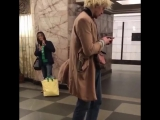 Данила Поляков в метро