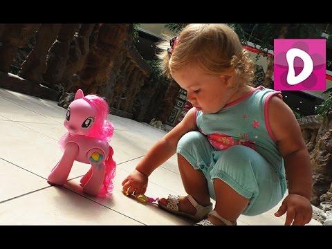 ✿ Киев, Дрим Таун, Распаковка My Little Pony Пинки Пай (Pinkie Pie) unpacking Диана Шоу