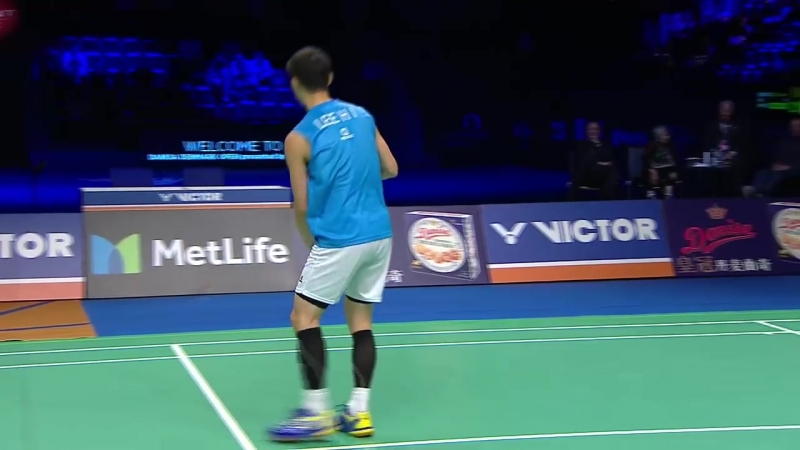 Danisa Denmark Open 2017 - Final MS - Lee Hyun II vs Kidambi Srikanth