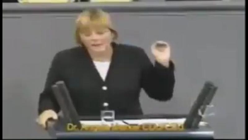 Glaube diese Partei leidet an Alzheimer... Angela Merkel, der Klassiker
