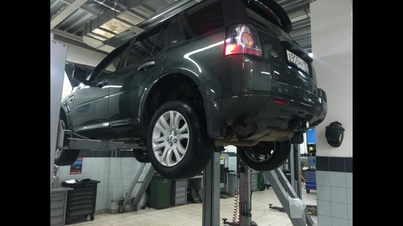 Протечка патрубка ГУР на Land Rover