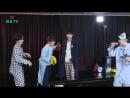 170817 Yongguk x Shihyun x JinYoung x Woodam (BIGBANG - Fantastic Baby Karaoke Live) @ HeyoTV