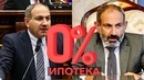Сказал Сделал Пашинян снизил ипотечную ставку