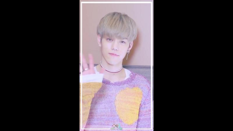 [29.06.18] Eye contact with Cha Hun (N.Flying)
