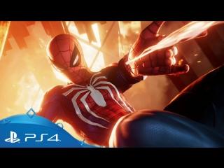 Человек-Паук | Сюжетный трейлер SDCC 2018 |  PS4