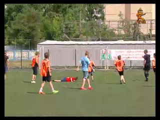 Финал футбольного турнира между лагерями