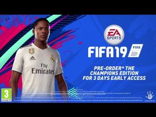 FIFA 19 | «История» | Алекс Хантер переходит в «Реал Мадрид»