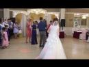 Свадьба Лены и Антона❤️Невеста кидает букет 🤣