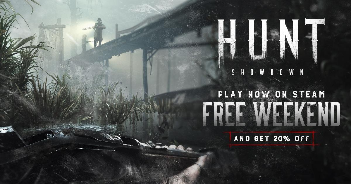 В Hunt: Showdown стартовали бесплатные выходные, которые буд