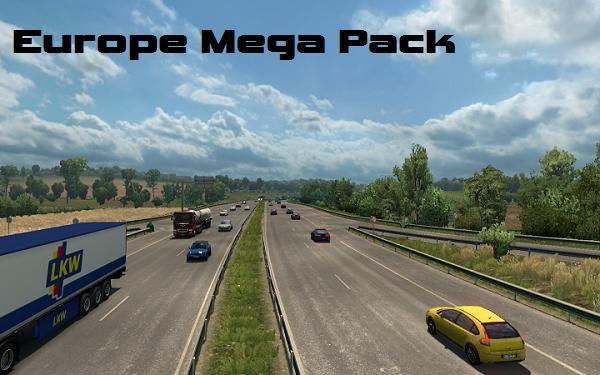 EUROPE MEGA PACK V 1.55