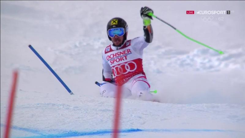 Marcel Hirscher 2nd run GS WC Val d´Isere - 3rd place