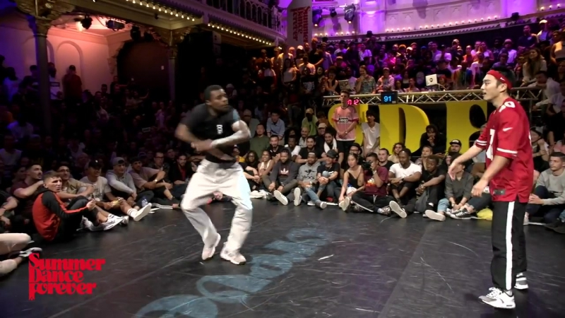 P-Dog vs Riceball 2ND ROUND BATTLES Hiphop Forever - Summer Dance Forever 2017