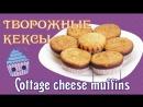 Творожные кексы How to make Cottage cheese muffins