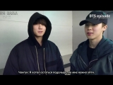 [RUS SUB][EPISODE] j-hope 1st mixtape MV Shooting #2