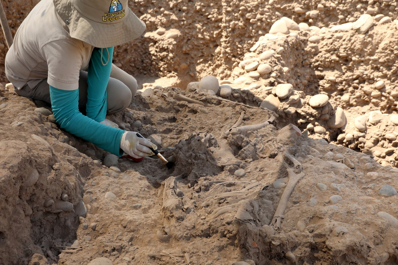 Страшная находка археологов на севере Перу