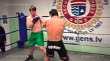 Reinis Stutans 73,1 kg. VS Zaurs Sadihovs 69,5 kg. 10.12.2014 proboxing.eu