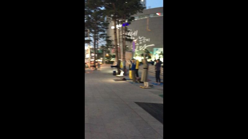 Энергетические практики в центре Сеула