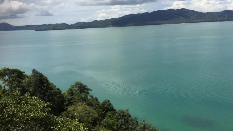 Остров Яо-Ной. Панорама со смотровой площадки.