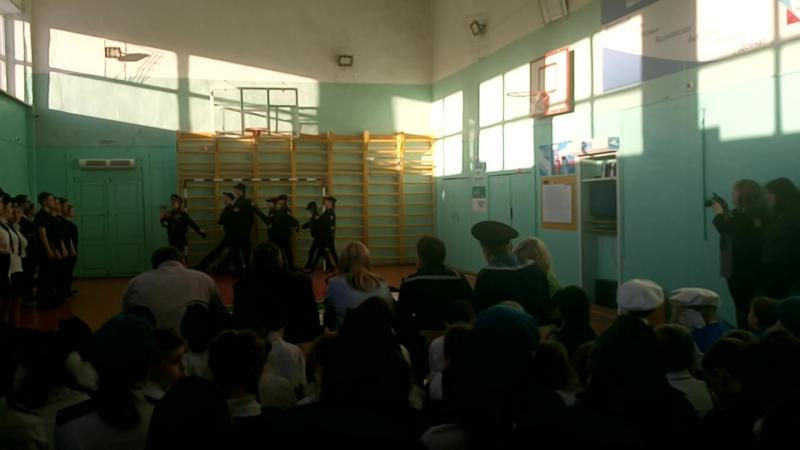Смотр школьных войск, 10 класс