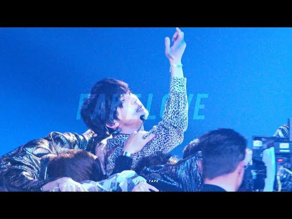 4K 180520 BBMAs FAKE LOVE 방탄소년단 석진 직캠 BTS Jin focus fancam