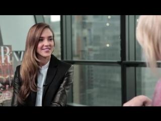 Harpers Bazaar   The Look with Jessica Alba