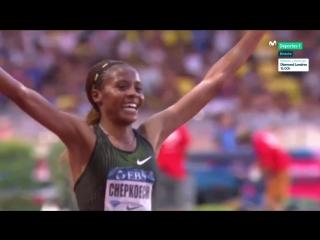 Сумасшедший бег! Мировой рекорд 3000 м с/п - женщины Биатрис Чепкоеч - 8:44.32