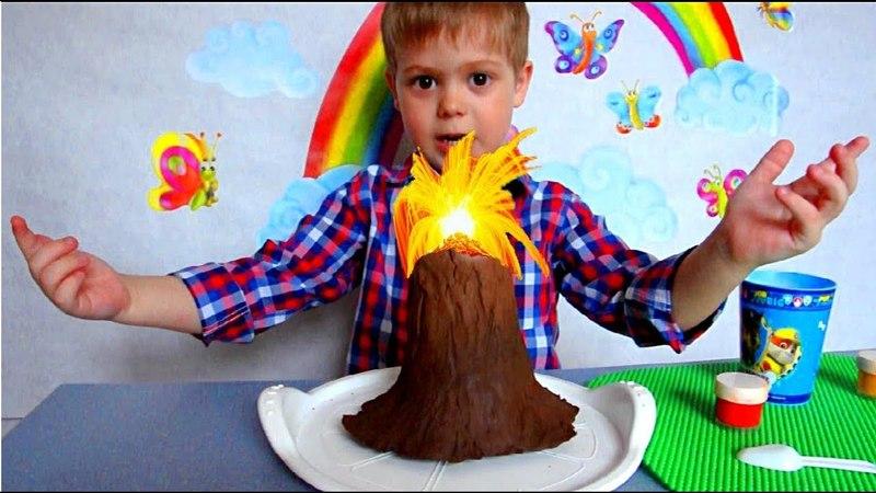 Как сделать вулкан дома чтобы понравилось ребенку