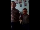 мои любимые мальчики поздравили маму