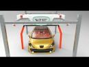 Бесконтактный робот автомойка самообслуживания БРИЗ с мойкой колес и чернен