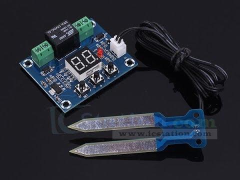 Модуль датчик контроля влажности почвы 20 99% XH M214 автоматическое управление ирригации