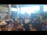 Сборная России по хоккею прилетела в Сеул