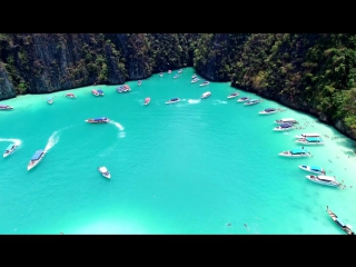 In 4K Drone Phi Phi Islands, Thailand