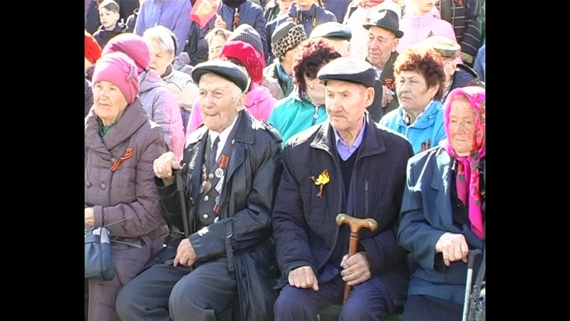 Торжественный митинг посвященный 9 мая организован на ст. Зима Координационным советом председателей ППО узла Зима
