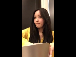 180512 Hyomin Instagram Live Video 2 (not mirrored)