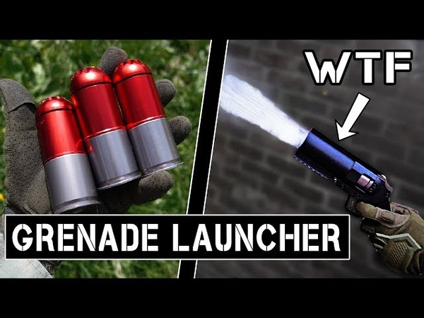 Scaring the $* out of Players with a 40MM GRENADE LAUNCHER!