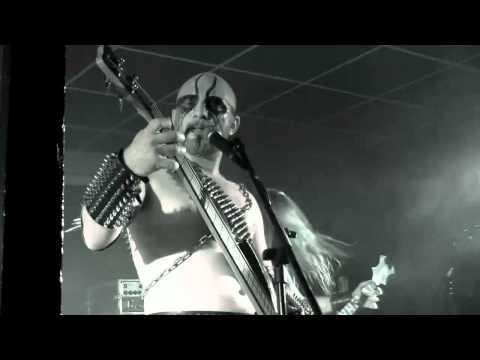EXCRUCIATE 666 - War Metal Hymn (Black Metal War Festival, live at Dock 412, 18/09/2010) (live video)