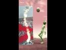 танец зелёного человечка