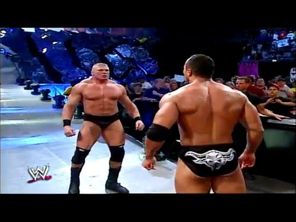 The Rock vs Chris Benoit(The Rock meet Brock Lesnar Face to Face) Aug.15,2002 WWE SMACKDOWN