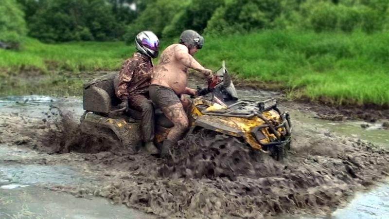 [Программа Автомобиль] Квадроциклы по грязи