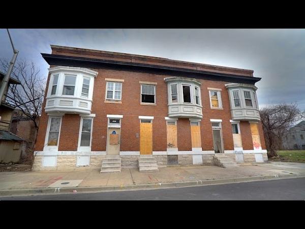 BALTIMORE DRUG HOUSE Abandoned, Needle Strewn Heroin Den