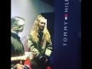 Презентация коллекции «TOMMYxGIGI» в Шанхае, Китай (14.10.16).