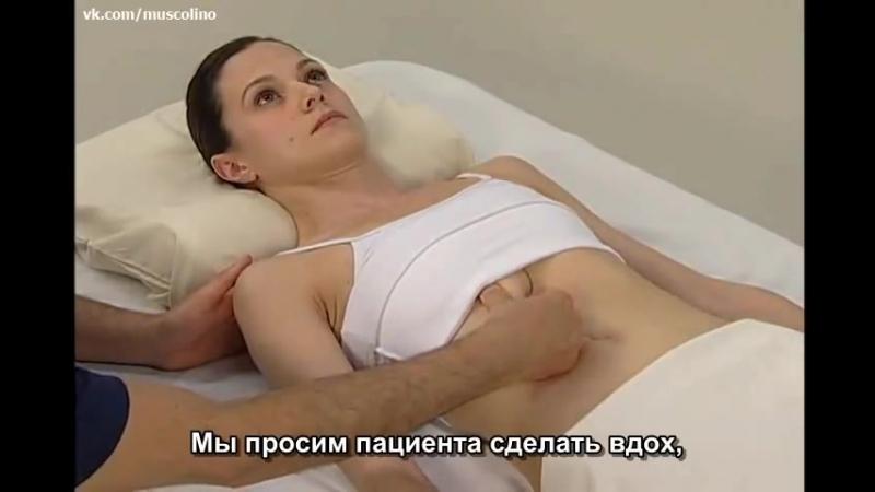 Пальпация мышц - Мышцы туловища.