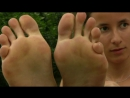 French Student Girl feet from Paris