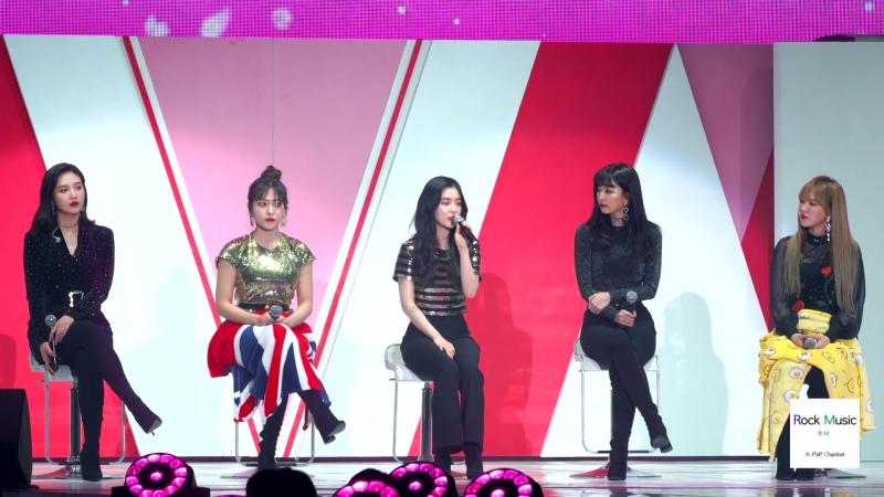 레드벨벳 Red Velvet 이 제시하는 '매트 시크 립 라커' 5 Loos 뷰티쇼@180414 락뮤직